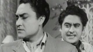 Ashok Kumar pretends unknown to Kishore Kumar | Bhai Bhai - Scene 6/15