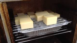 Best Video!!! -  How to Smoke Cheddar Cheese in a cheap electric Smoker.  Smoked Cheddar