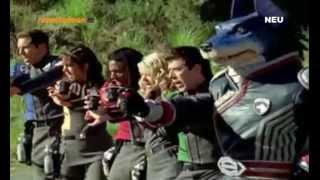 Power Rangers S.P.D & Power Rangers Dino Thunder - Legendärer Kampf! (DEUTSCH) HD