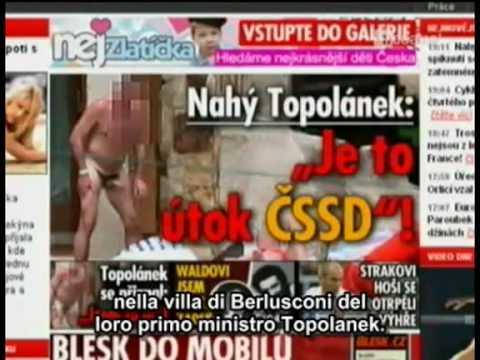 Informazioni riguardo Berlusconi e le foto di villa Certosa trasmesse da La Cuatro 05.06.2009