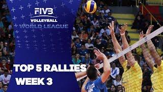 FIVB - World League: Week 3 - Top 5 Rallies
