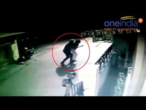Bengaluru woman abducted & molested, Watch CCTV footage | Oneindia News