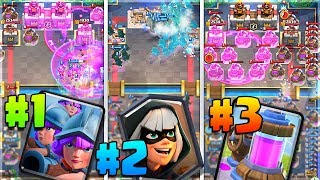 3 CRAZY CUSTOM CHALLENGES - Clash Royale 2v2!