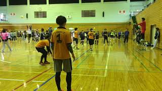 2017/10/29 milk cup vs rascal 1set match【ソフトバレー】