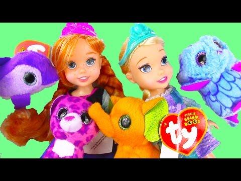 Xxx Mp4 Disney Frozen Queen Elsa Princess Anna Toddlers Open Ty Teenie Beanie Boo S Mcdonalds Happy Meal Toy 3gp Sex