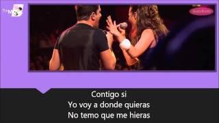 Yahir y María José - Contigo Si, Letra + Vídeo Oficial