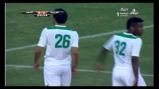 الشوط الأول من مباراة الشعب والعروبه فى الدوري الإماراتي