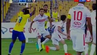 """كأس مصر 2016 - أهداف مباراة """" نادي الزمالك VS نادي الاسماعيلي """" نصف نهائي الكأس .. 4/0"""