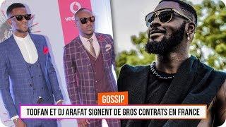 Toofan et DJ Arafat signent de gros contrats en France