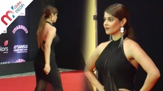 Meera Chopra Hot Looks In Back Lees Dress || Celeb Zone