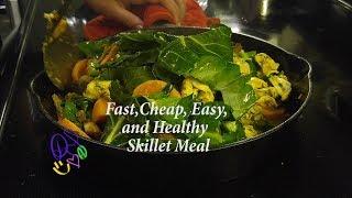 30 Minutes One Skillet: Herb Chicken-N-Sweet Potato