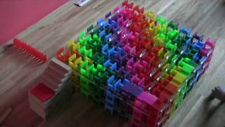 Domino Spiral Cube Fail!