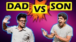 INDIAN DAD VS SON | The Half-Ticket Shows