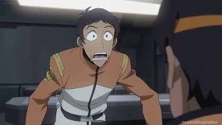 Hunk Encourages Lance To Ask Keith Out - Voltron Season 8
