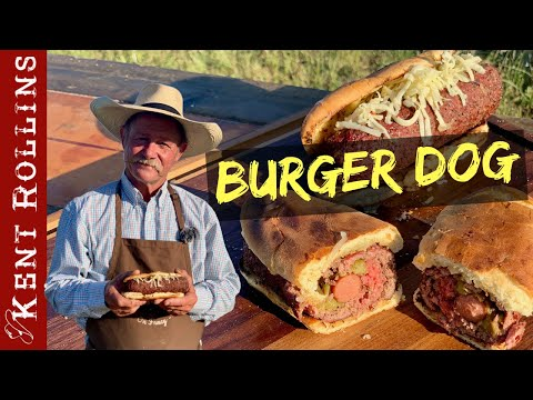 All American Grilled Burger Dog