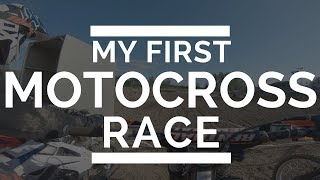 My first motocross race!
