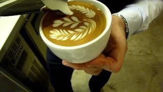 latte art  ...     Korea  .  ID: corea coffee belt