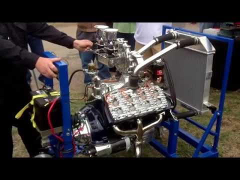 Austin Speed Shop Keith Tardel built Frenzel Supercharged Flathead Ford