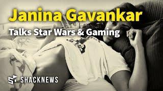 Actress Janina Gavankar Talks Star Wars & Gaming