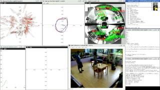 Visual SLAM - Comparsion Bearing-Only SLAM vs. GMapping - dynamic environment