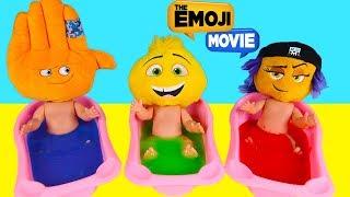 The Emoji Movie Hi-5, Jailbreak, Gene Bath Toys LOL Surprise Dolls, Mashem Hatchems| Ellie Sparkles