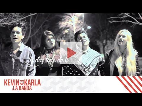 All Of Me (Spanish Version) - Kevin Karla & La Banda ft. Vesta & Dani Ride (Lyric Video)