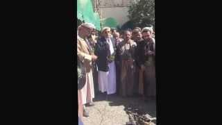 تسجيل مسرب: الحوثي يحكم والشيخ صادق يرد الحُكم عليه
