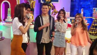 ASAP Chillout BTS with Robi Domingo and James Reid