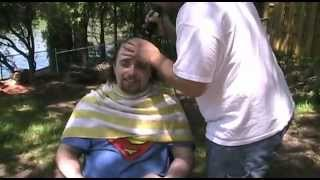 Locks of Love Head Shave