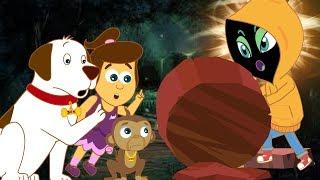 Alien Meet | Cartoons For Kids | The Adventures of Annie & Ben | HooplaKidz Toons