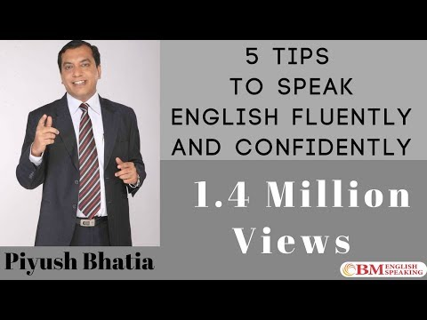 5 Tips to Speak English Fluently & Confidently