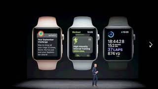 Quick Roundup of the Apple Event Announcements Apple Watch Apple TV Iphone 8 and X