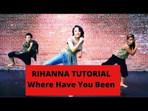 Rihanna Where have you been Part I MIRRORED Dance Breakdown Tutorial 2