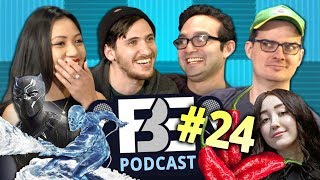 FBE PODCAST | Superheroes, Cosplaying, Ghost Peppers (Ep #24)