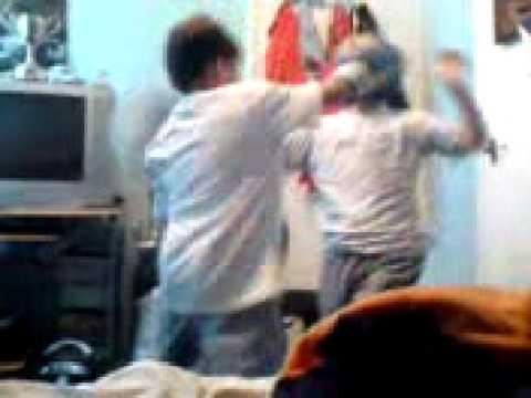 boxing video of david waite