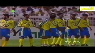 اهداف النصر والهلال 3-1 نهائي كأس الدوري 1415 من الزمن الجميل