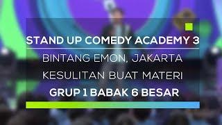 Stand Up Comedy Academy 3 : Bintang Emon, Jakarta - Kesulitan Buat Materi