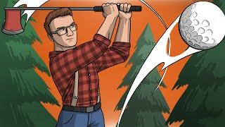 HIT BALLS, GET WOOD... - Golf With Friends Funny Moments!