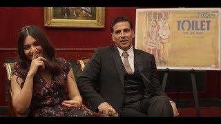 Toilet Ek Prem Katha Interview Akshay Kumar & Bhumi Pednekar change the country through film