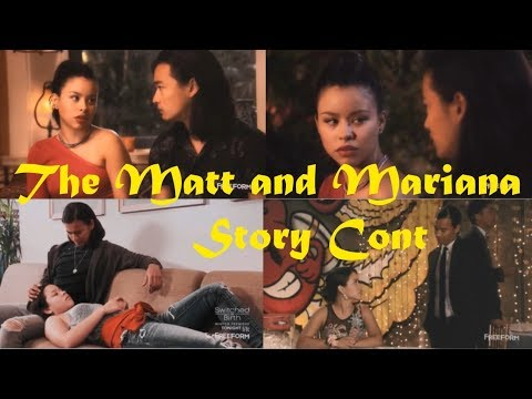 Xxx Mp4 The Matt Mariana Story Cont From The Fosters 3gp Sex