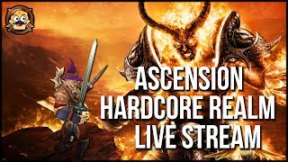 WoW Ascension Hardcore Server | Lets Play Part 1 - Here we go again!