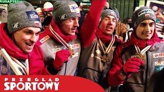Polscy skoczkowie świętują złote medale!