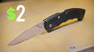 Testing the Cheapest EDC Tactical Folder from WALMART