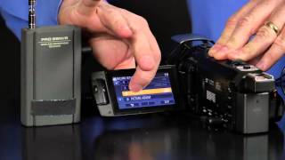 Panasonic Camcorder How to use the Microphone Controls for Models V770, VX870, & WX970