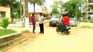 Babusan at the shooting set of Daha Balunga