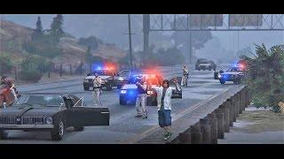 GTA 5 Texas State Trooper - Texas Hitman - GTA V Movie