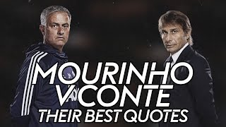 Mourinho vs Conte | The best quotes from their rivalry!