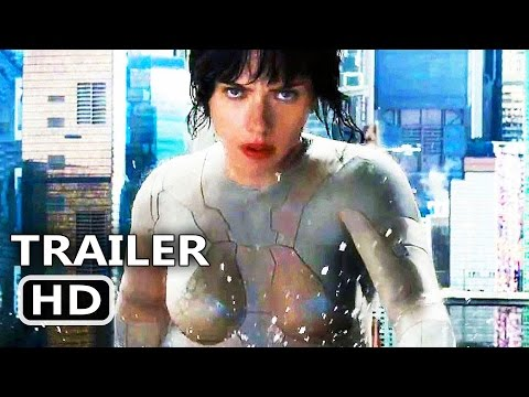 GHOST IN THE SHELL Water Fight Clip 2017 Scarlett Johansson Sci Fi Movie HD