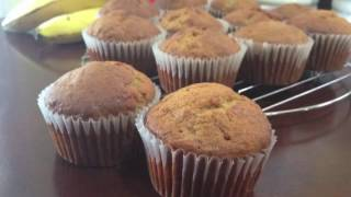 Banana Muffins Recipe!