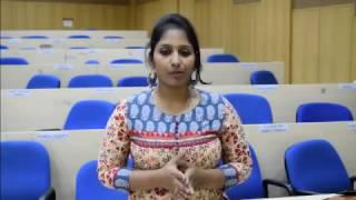 Alum Speak: Suhasini GK, PGP 2012-14